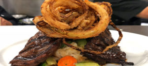 Come into this great restaurant and enjoy outstanding skirt steak