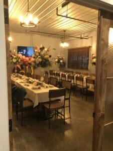 Private Party Room Bella Siena in Benicia